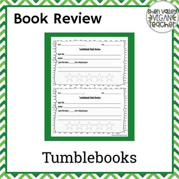 Tumblebook Book Review resource