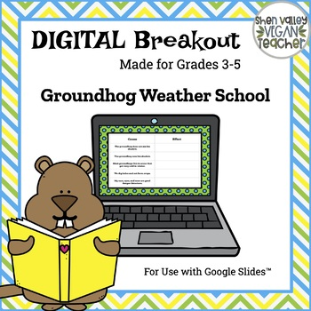 Digital Breakout Escape Room - Groundhog Day