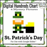 Digital Hundreds Chart St. Patrick's Day