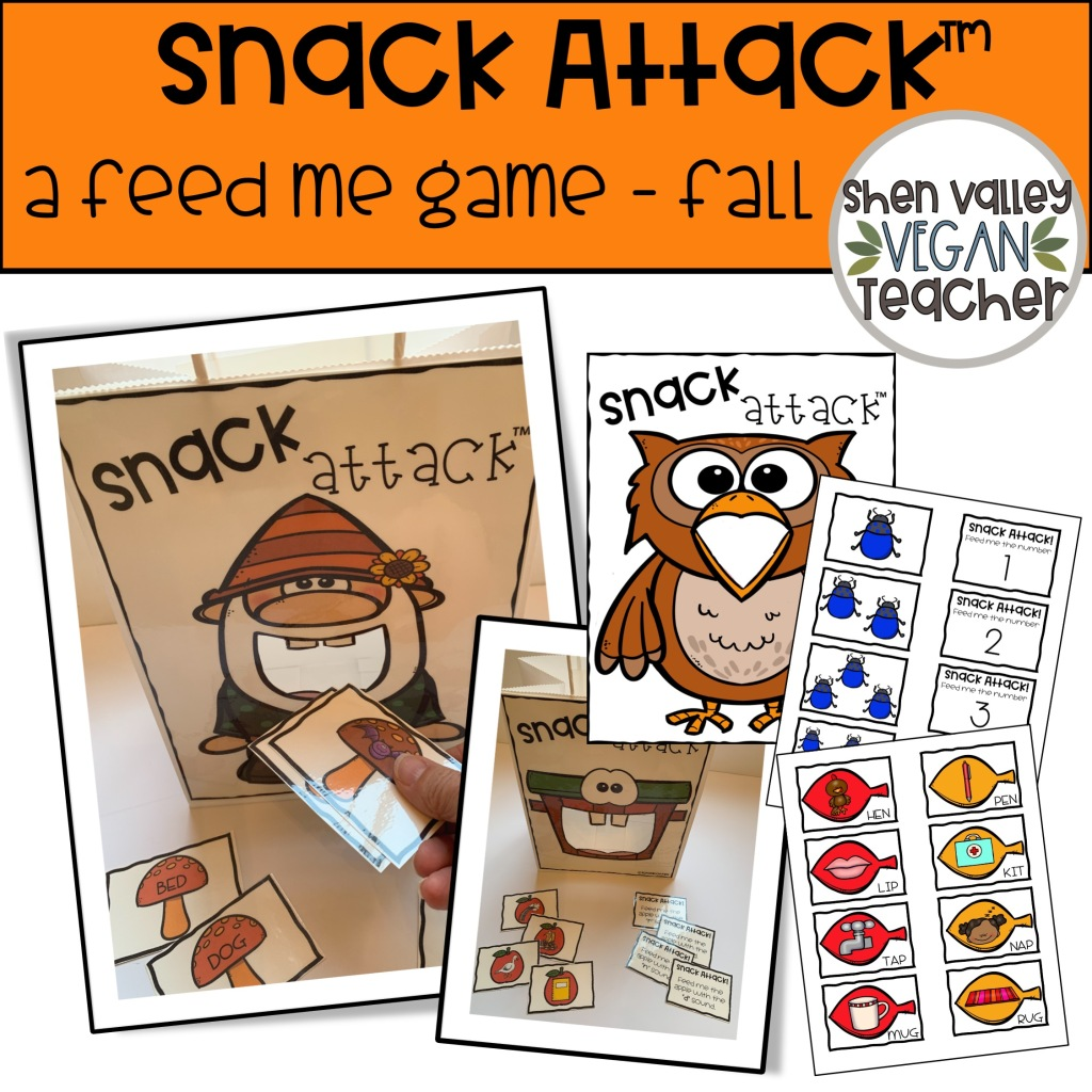 Snack Attack A Feed Me Game